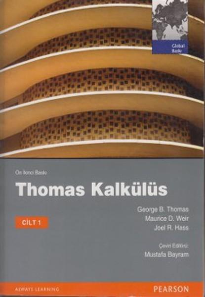 Thomas Kalkülüs Metrik Baskı Cilt:1 –  George B. Thomas, Joel R. Hass, Maurice D. Weir