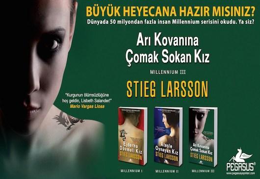 Arı Kovanına Çomak Sokan Kız (Millennium Serisi 3) – Stieg Larsson